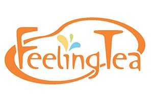 logo trà sữa Feeling Tea