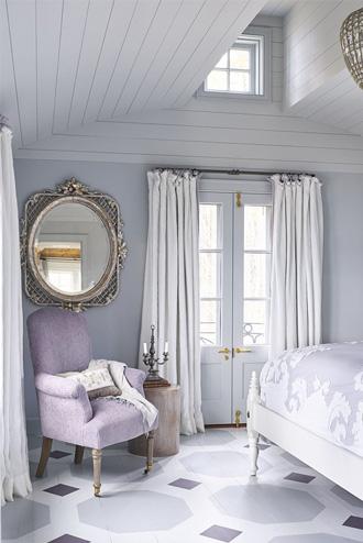 lựa chọn một tông màu chính cho các đồ nội thất phòng ngủ
