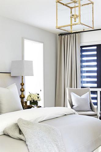 lựa chọn tông màu nhẹ cho phòng ngủ