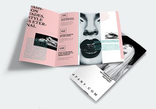 mẫu brochure đẹp 9
