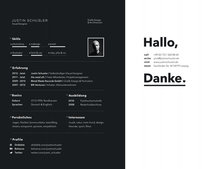 mẫu CV đẹp 1