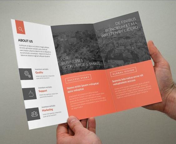 mẫu in brochure đẹp 1