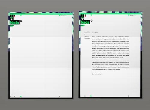 mẫu letterhead đẹp 3