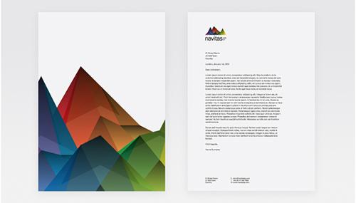 mẫu letterhead đẹp 7