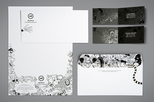 mẫu letterhead đẹp 9