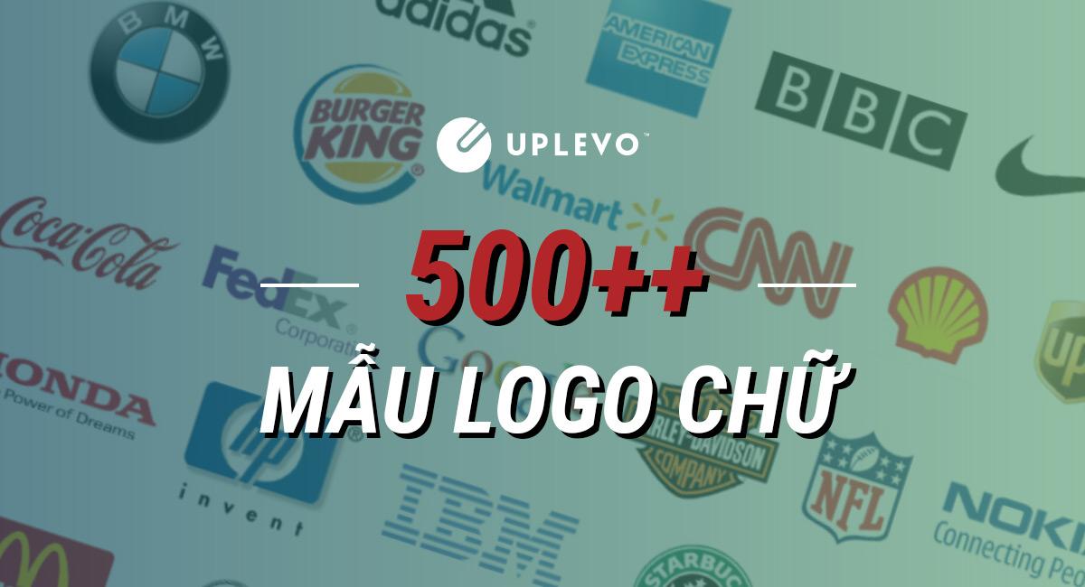 500+ Mẫu Logo Chữ Ấn Tượng Nhất