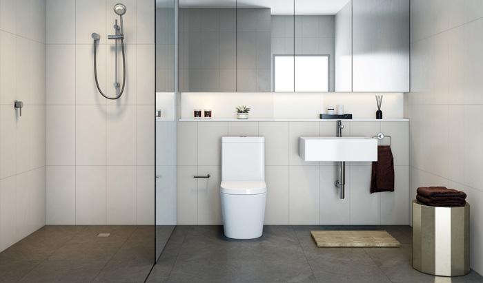 mẫu nhà tắm đẹp tối giản