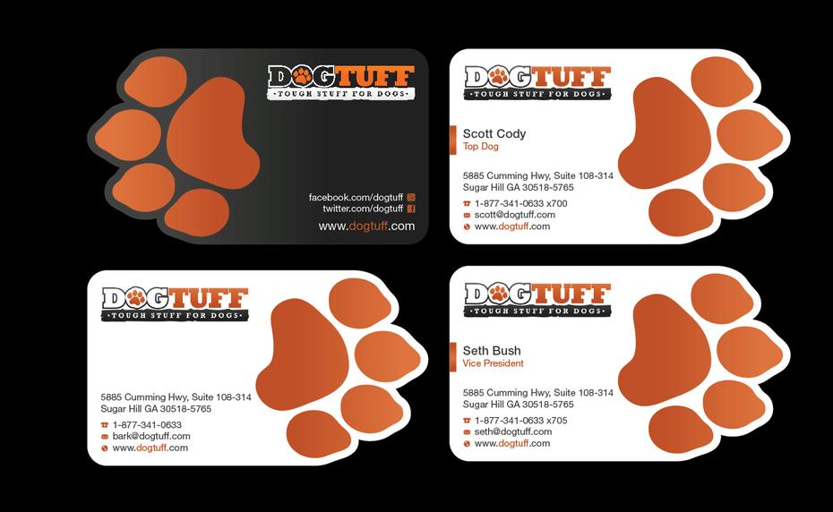 màu sắc của logo trong thiết kế card visit
