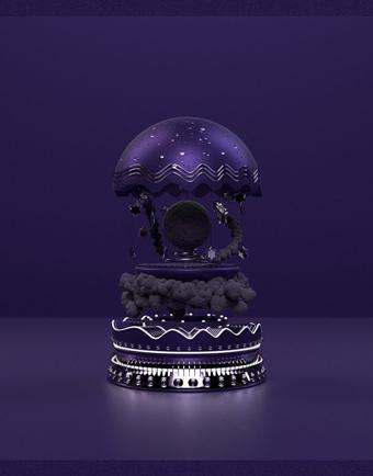 màu sắc của năm 2018 ultra violet 2