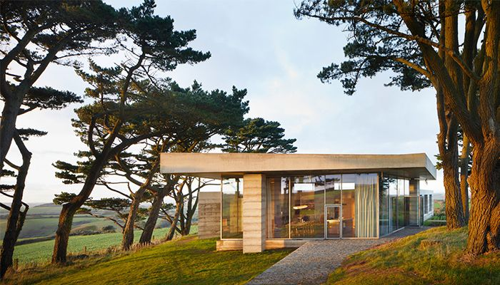 mẫu thiết kế nhà đẹp Secular Retreat 1