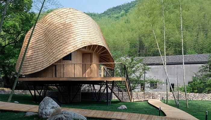 mẫu thiết kế nhà đẹp Treewow Retreat 1