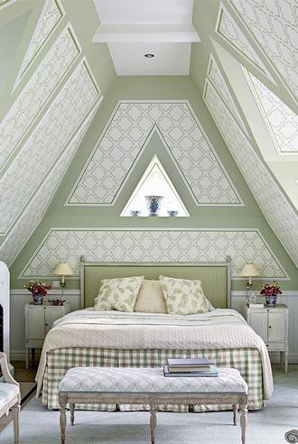 màu xanh mơ mộng cho nội thất phòng ngủ