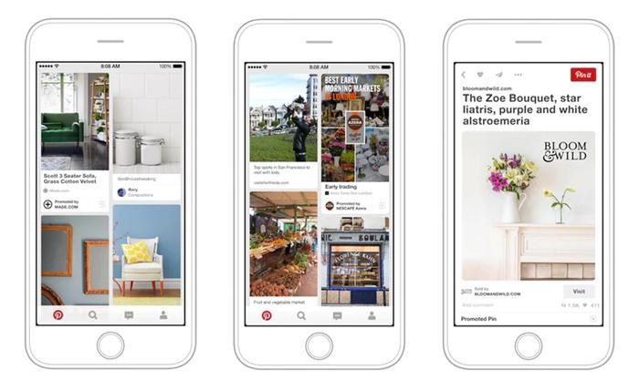 nguyên tắc tối ưu quảng cáo Pinterest