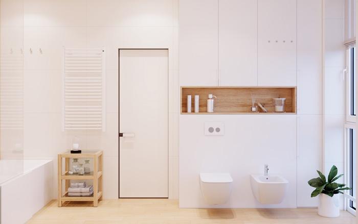 nhà tắm để vật dụng cá nhân