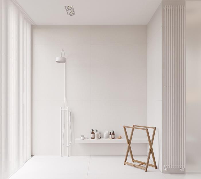 nhà tắm đẹp phong cách tối giản