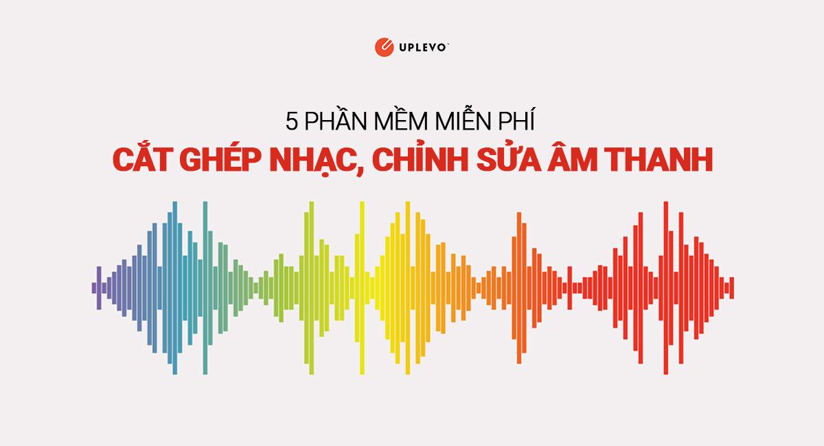 5 Phần Mềm Cắt Ghép Nhạc (File MP3) Online Miễn Phí