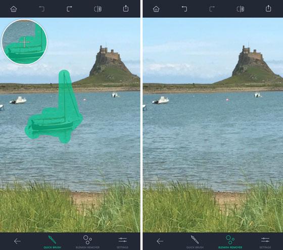 phần mềm chỉnh sửa ảnh TouchRetouch