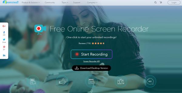 phần mềm quay màn hình máy tính APowerSoft