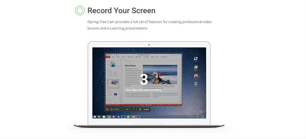 phần mềm quay màn hình máy tính iSpring
