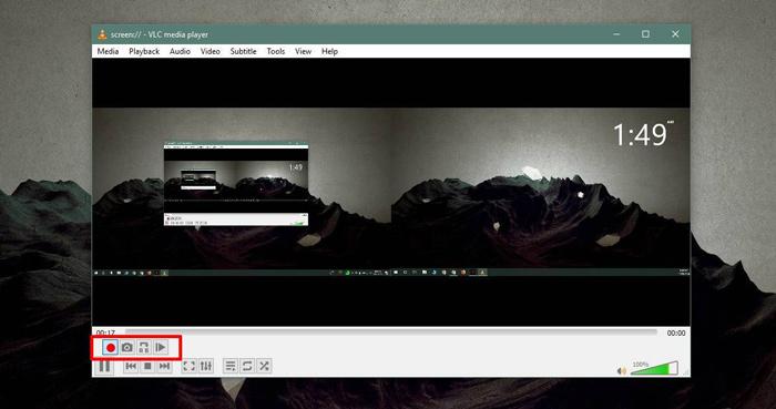 phần mềm quay màn hình máy tính VLC
