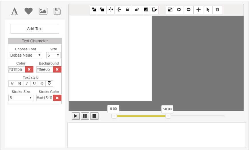 phần mềm tạo ảnh động EditPhotoForFree