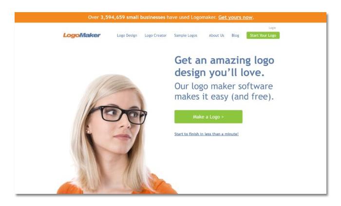 phần mềm thiết kế logo online logo maker