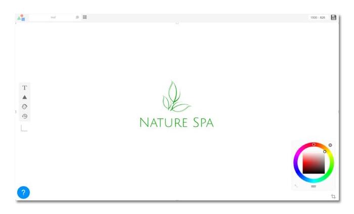 phần mềm thiết kế logo online logomakr
