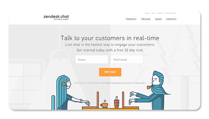 phần mềm ứng dụng live chat zendesk