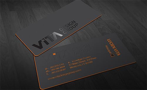 phong cách thiết kế card visit hiện đại
