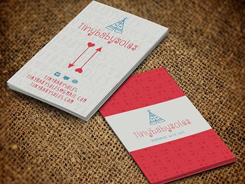 phong cách thiết kế card visit sặc sỡ