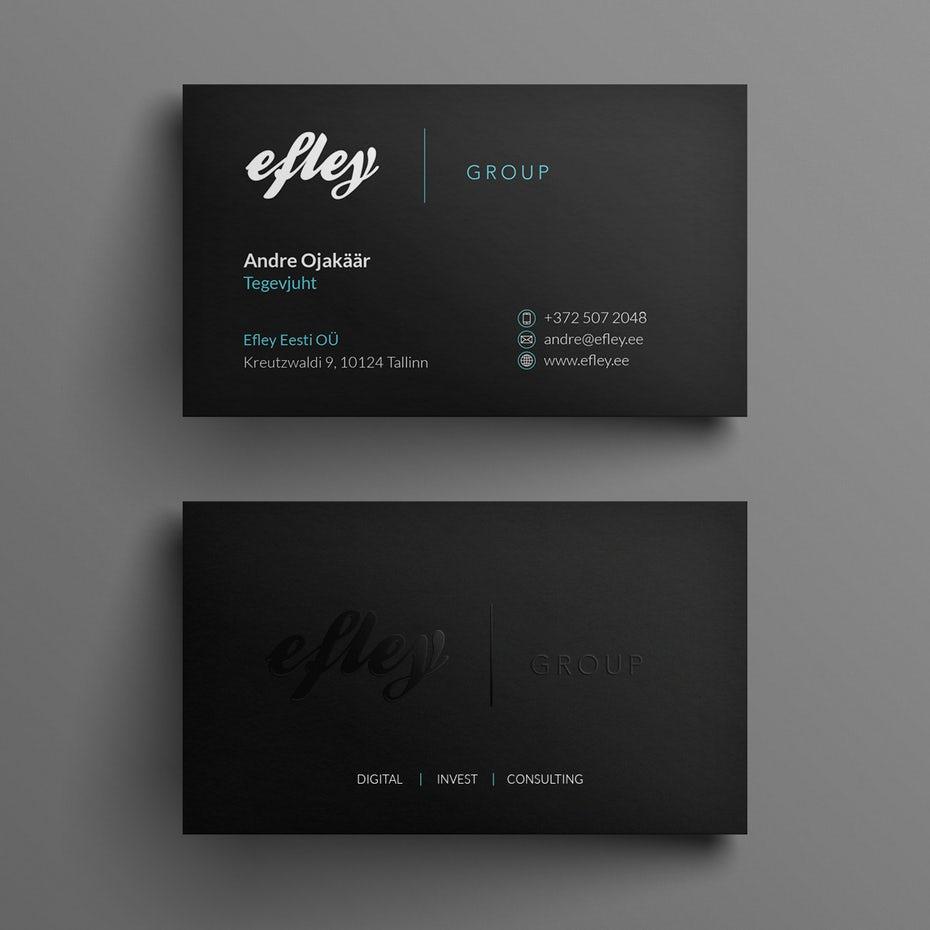 phong cách thiết kế tối giản và chuyên nghiệp