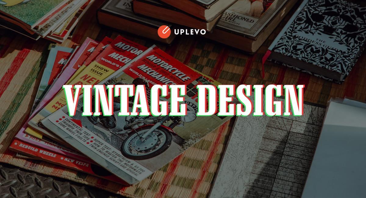phong cách thiết kế Vintage design