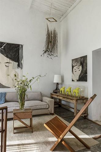phòng khách theo phong cách nghệ thuật