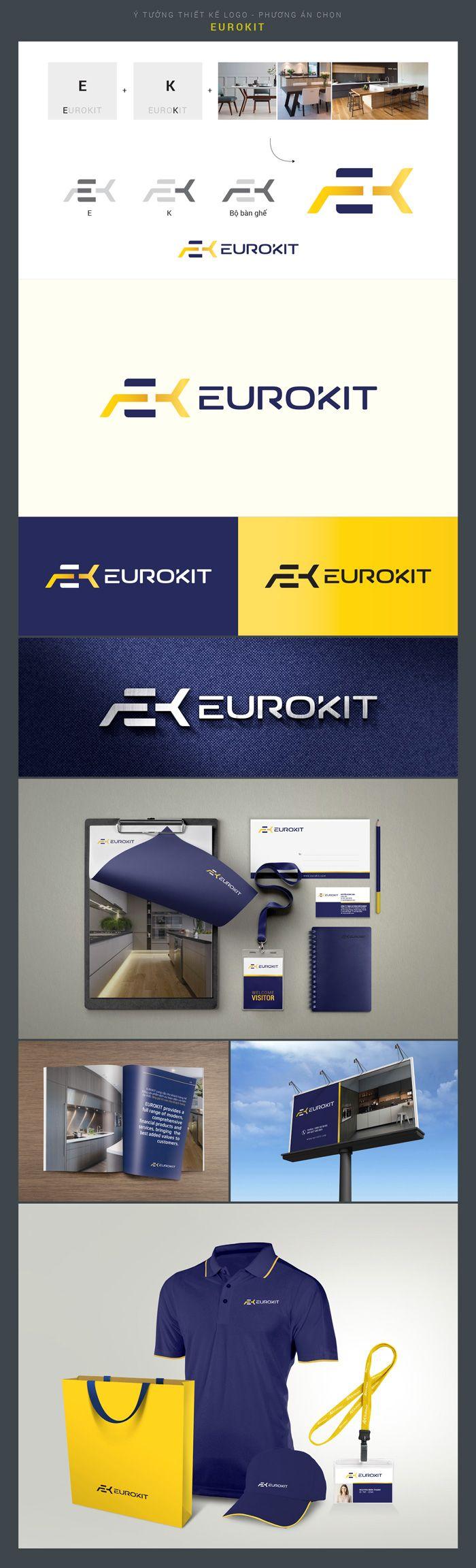 phương án Logo Eurokit chọn