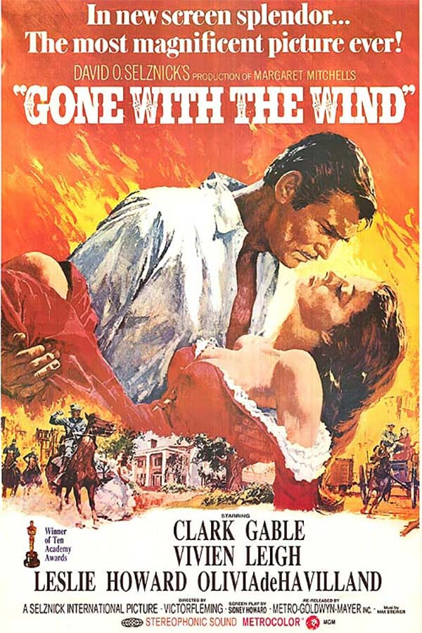 poster phim gone with the wine