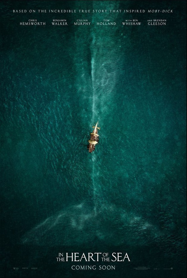poster phim in the heart of the sea