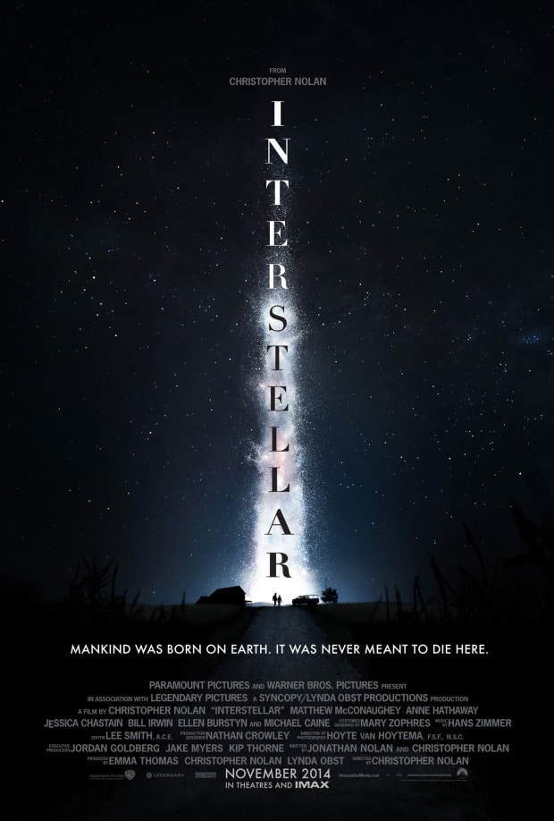 poster phim interstellar