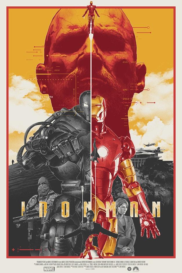 poster phim iron man