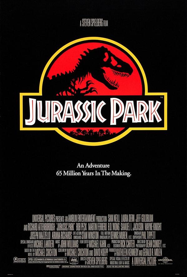 mẫu poster phim jurrasic park