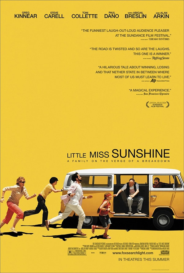 mẫu poster phim little miss sunshine