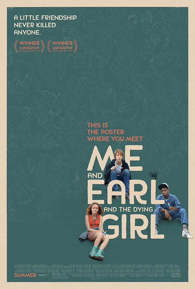 poster phim me and earl and the dying girl
