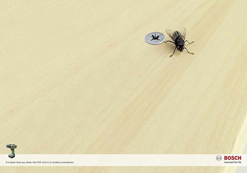 poster quảng cáo của bosch