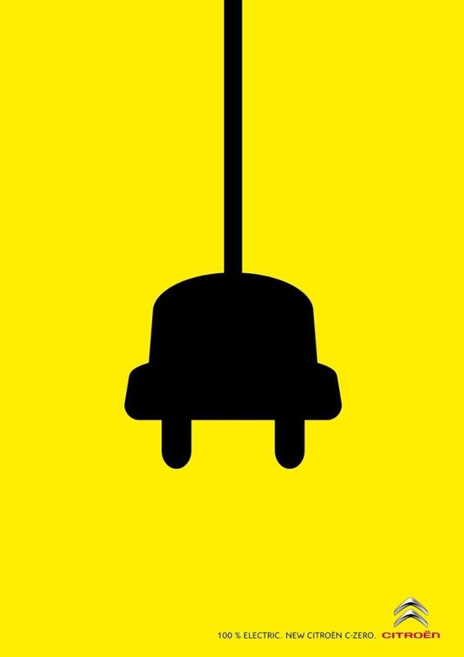 poster quảng cáo của citroen