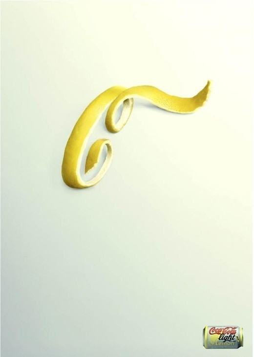poster quảng cáo của cocacola light