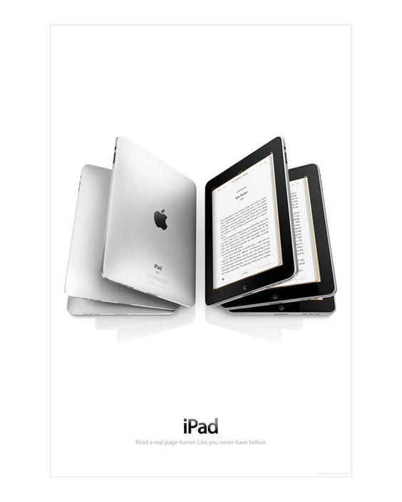 poster quảng cáo của ipad apple
