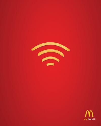 poster quảng cáo của mcdonald