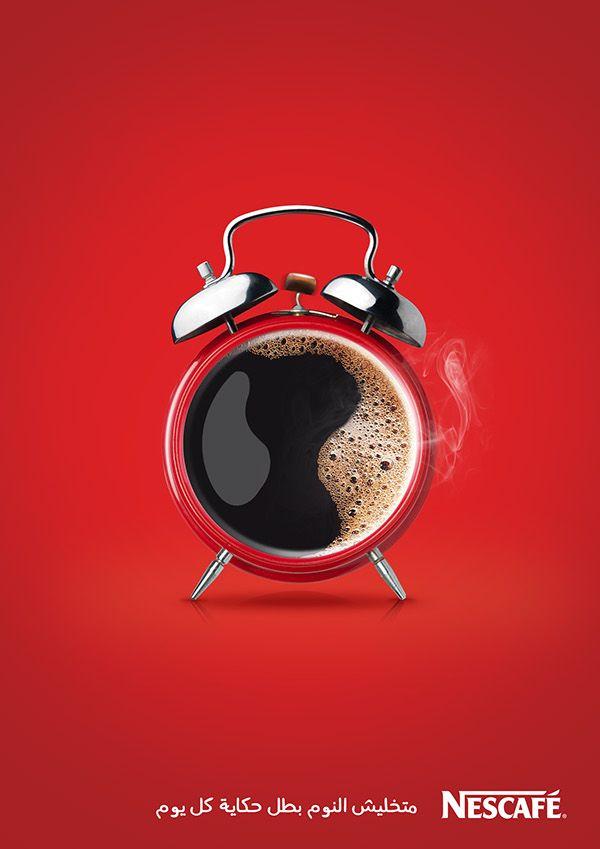 poster quảng cáo của nescafe