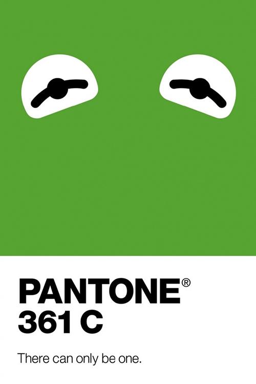 poster quảng cáo của pantone