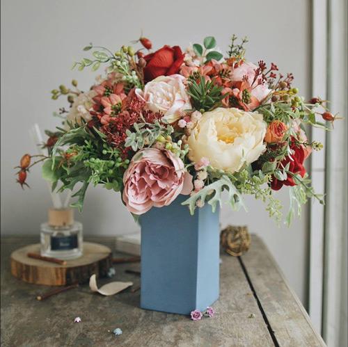quà tặng 20/11 hoa lụa