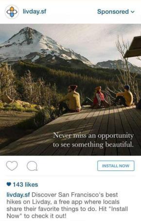 quảng cáo b2c của instagram rẻ hơn